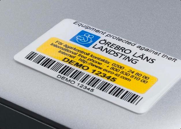 Stöldskyddsmärkning IT-Utrustningar