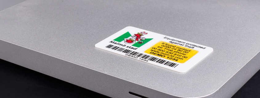 Stöldskyddsmärkning XPM