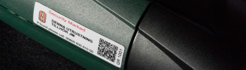 Stöldmärkningssystemet ID Mark